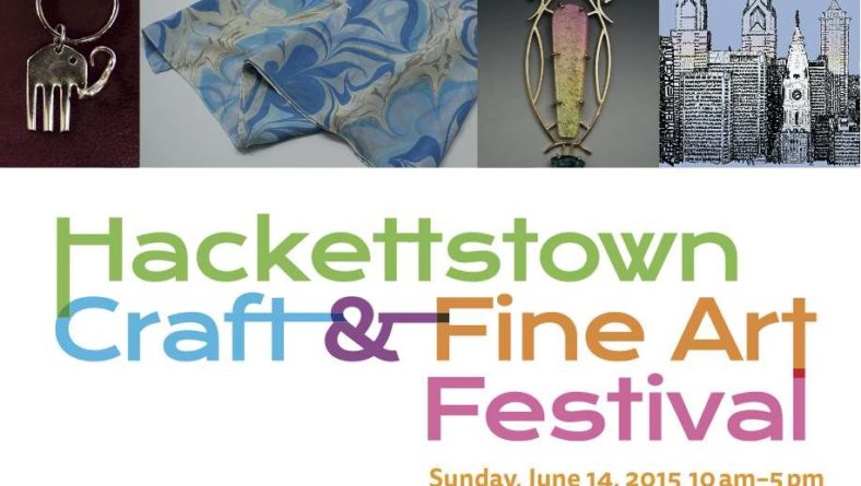 Hackettstown Craft & Fine Art Festival – June 14th