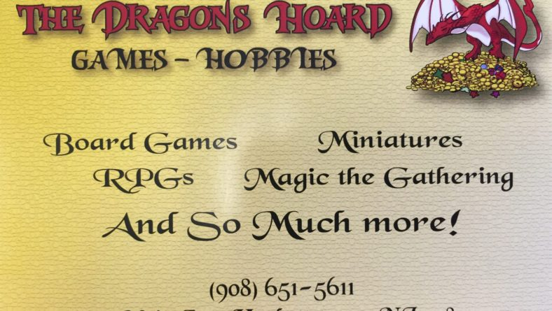The Dragons Hoard – Grand Opening June 10, 2016