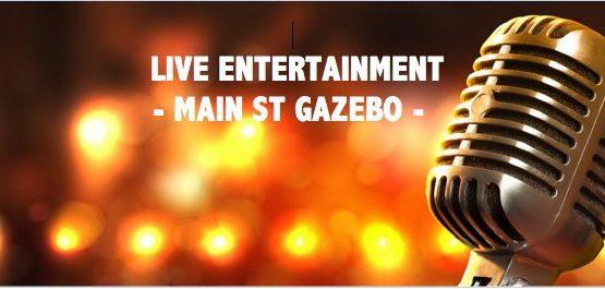 live entertainment gazebo
