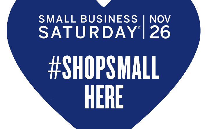 It Pays to Shop Small SAT. Nov 26-Dec 19