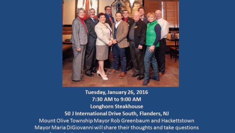 Have Breakfast with the Mayors (Mt. Olive Chamber of Commerce)
