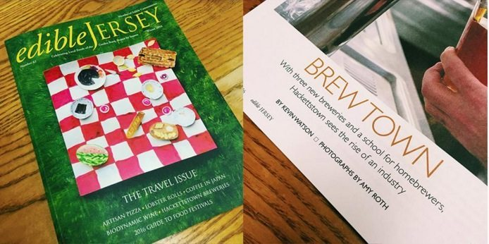 Hackettstown Breweries in Edible Jersey