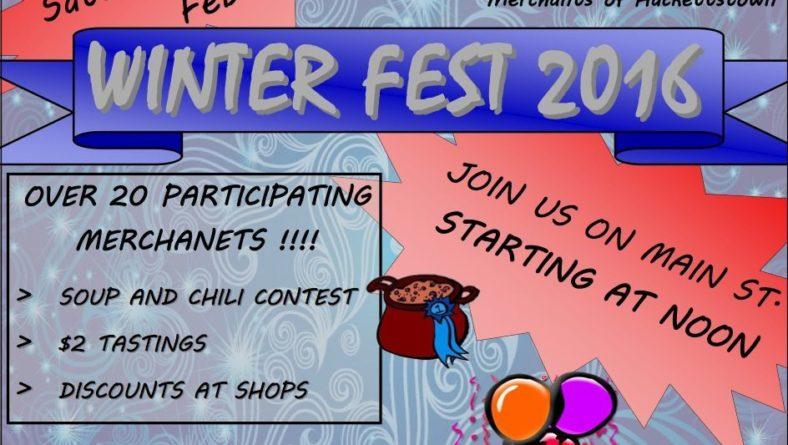 Merchants of Hackettstown Bring You Winter Fest 2016