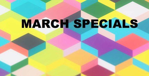 March Specials in Hackettstown
