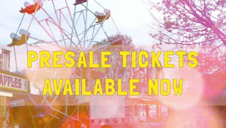 Spring Festival PRE-SALE Ride Tickets
