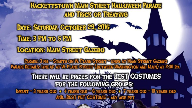 3rd Annual Halloween Downtown Parade