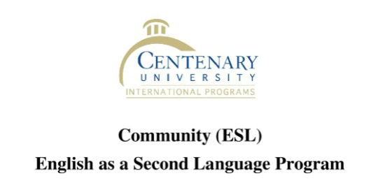 English as Second Language Program | Centenary University | 2017