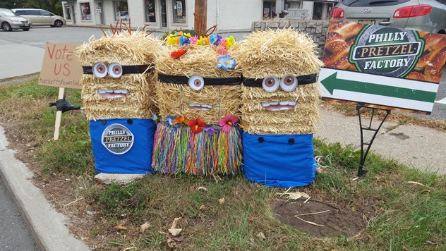 5th Annual Scarecrow Contest 2017 | Oct.16 – Nov.17