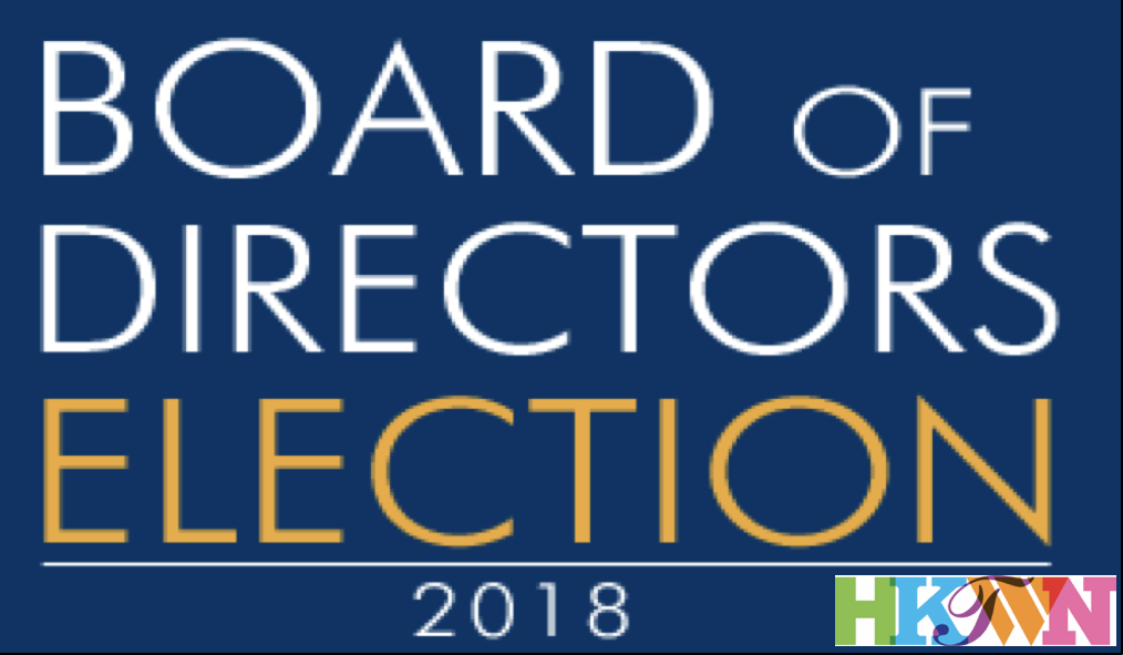 2018 board of directors nominations now closed