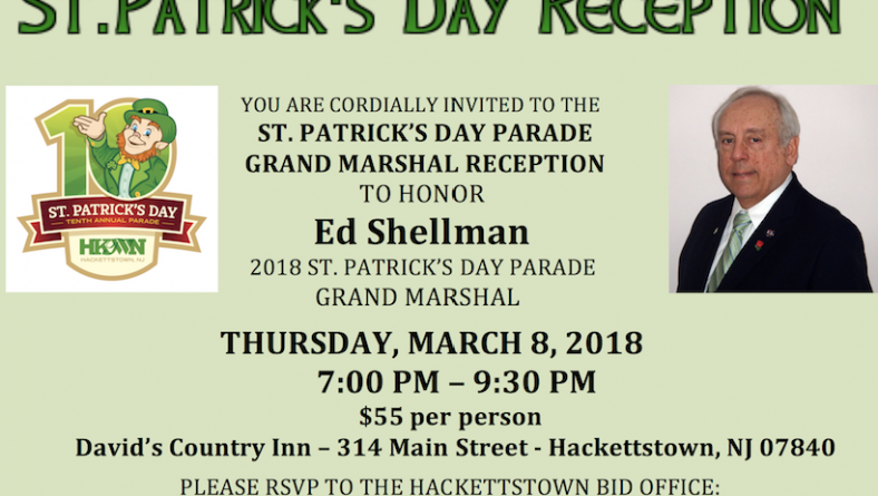 David's Country Inn to Host 2018 Grand Marshal Reception