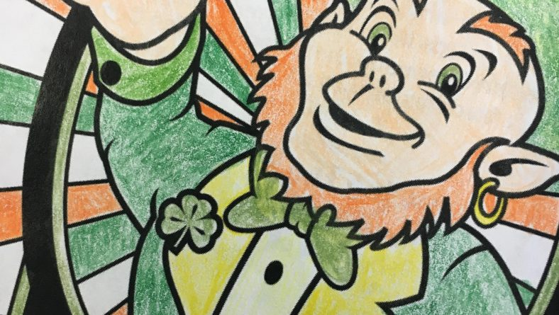 St. Patricks Day Coloring Contest Winners!