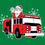 Santa on Fire Truck December 4th 6:00-8:00 pm
