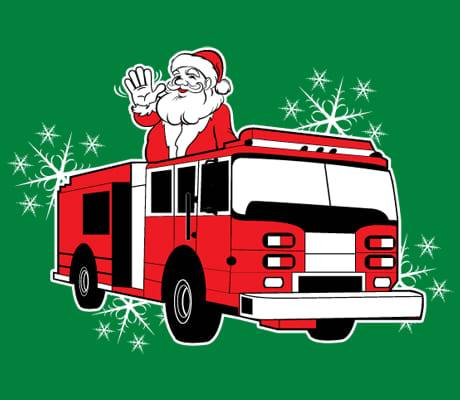 Santa on Fire Truck DECEMBER 12th!