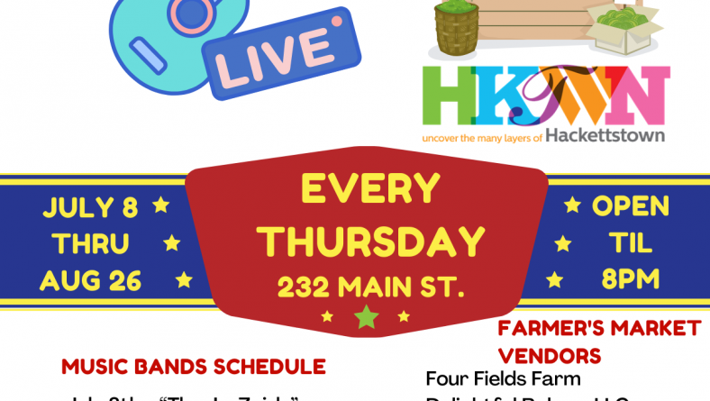 The Bunkees and Farmers Market at Late Night Thursday July 22nd!