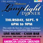 Autumn Lamplight Dinner Canceled