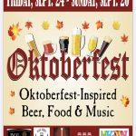 Hackettstown Oktoberfest September 24-26, 2021